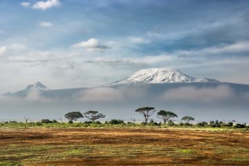 Mount Kilimanjaro from afar