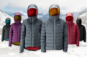 Rab Valiance Jacket colours