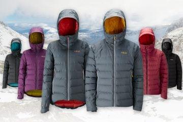 Rab Valiance Jacket colours
