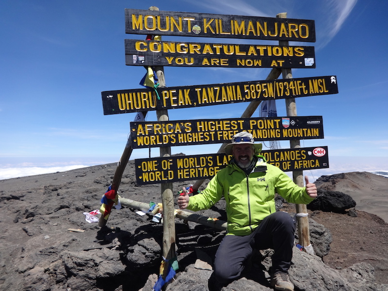 Summit of Mount Kilimanjaro