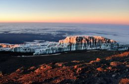 Glacier Mount Kilimanjaro