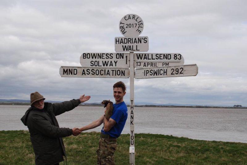 Hadrian's Wall sign