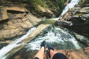 Waterfall in Ella, Sri Lanka