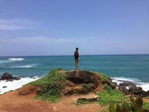 Coast southern Sri Lanka