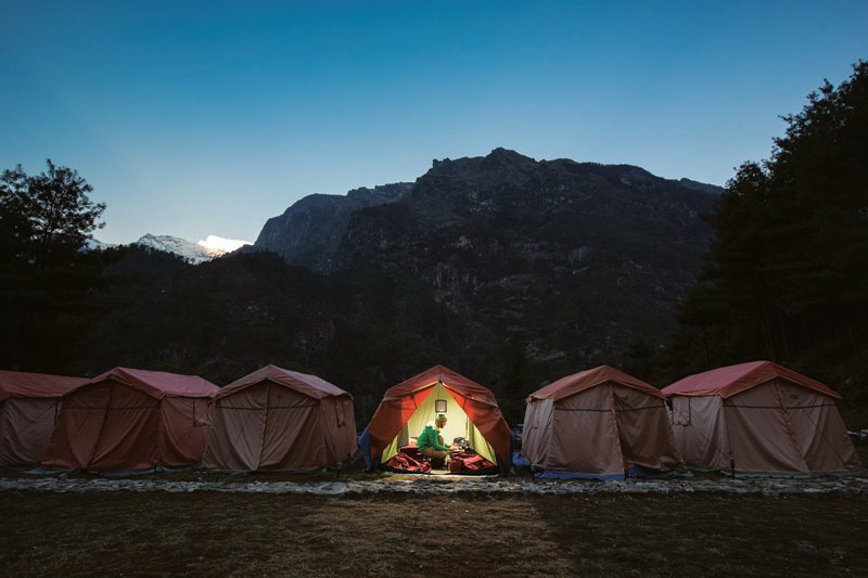 Eco camps in Nepal