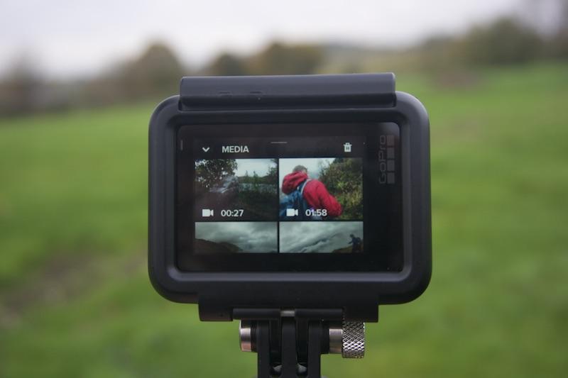 GoPro Hero 6 Black touchscreen