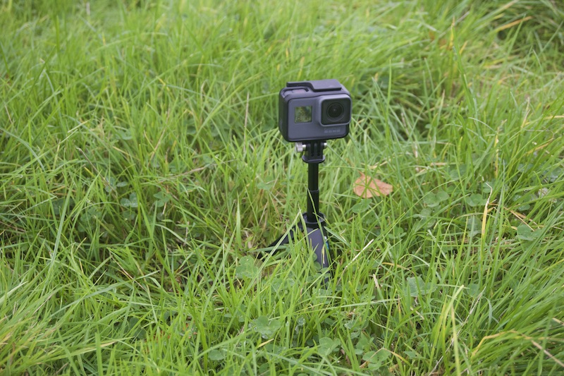 GoPro Hero 6 Black with Shorty tripod