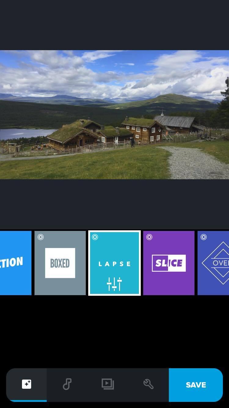 GoPro Quikstories app