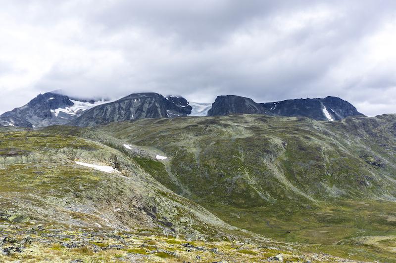 Rugged peaks in Jotunheimen National Park