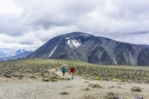 Looking back at Bessho in Norway