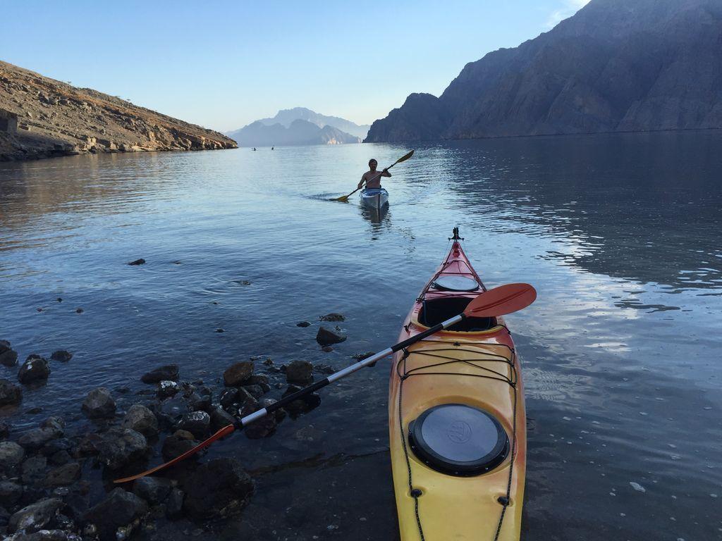 Kayaking in Ras Al Khaimah