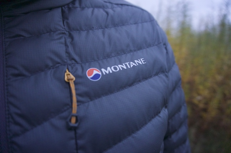 Montane Icarus Jacket detail
