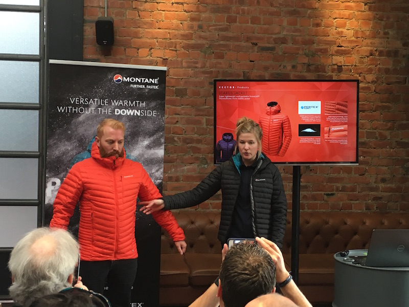 Montane Icarus Jacket press launch