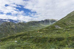 Mountains in Jotunheimen National Park