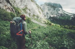 Multi-day hiking with a rucksack