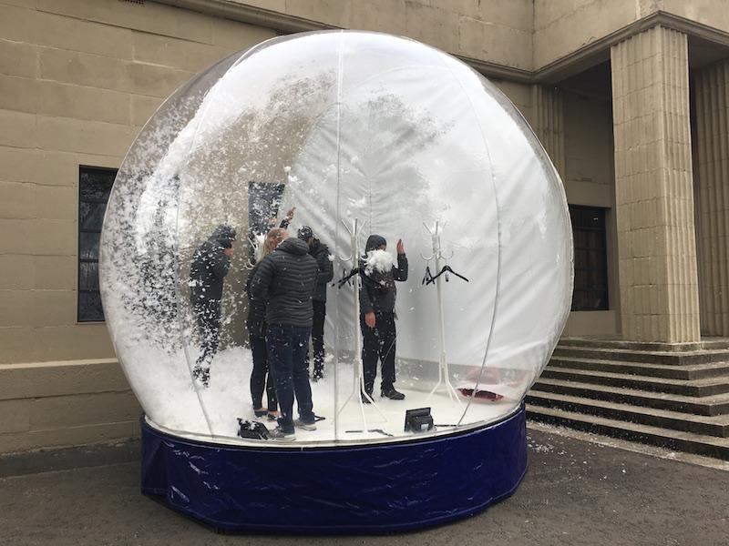 PrimaLoft snow globe