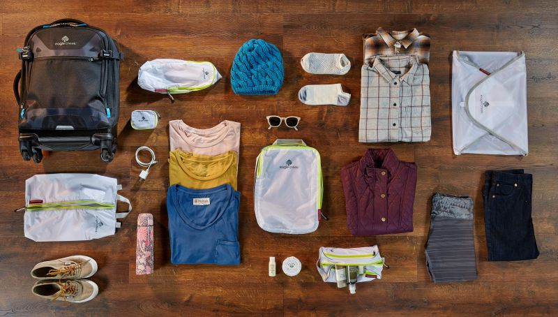 Eagle Creek, how to pack for an adventure