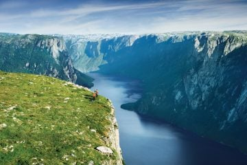 Western Brook Pond, Newfoundland and Labrador