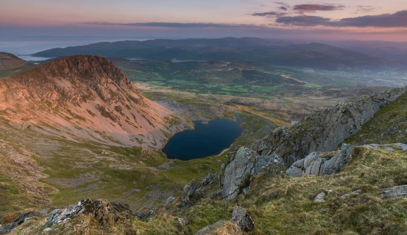 Cader Idris mountain in Snowdonia, Wales