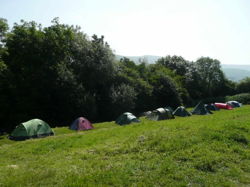 Dragons Back Camping