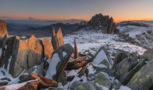 Glyder Fawr, on the Snowdonia Way, Wales