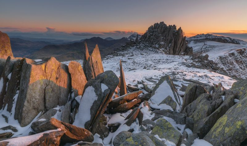 Glyder Fawr, on the Snowdonia Way, Wales