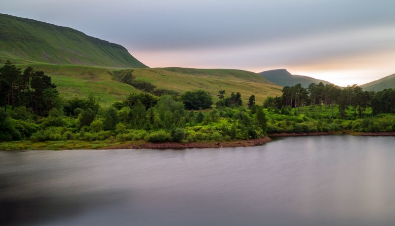 Neuadd reservoirs in the Brecon Beacons
