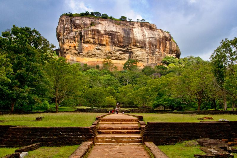 Sigiriya Rock in Sri Lanka