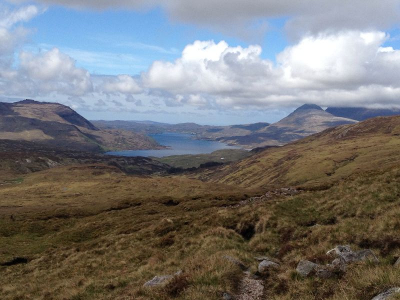 The Cape Wrath Trail in Scotland