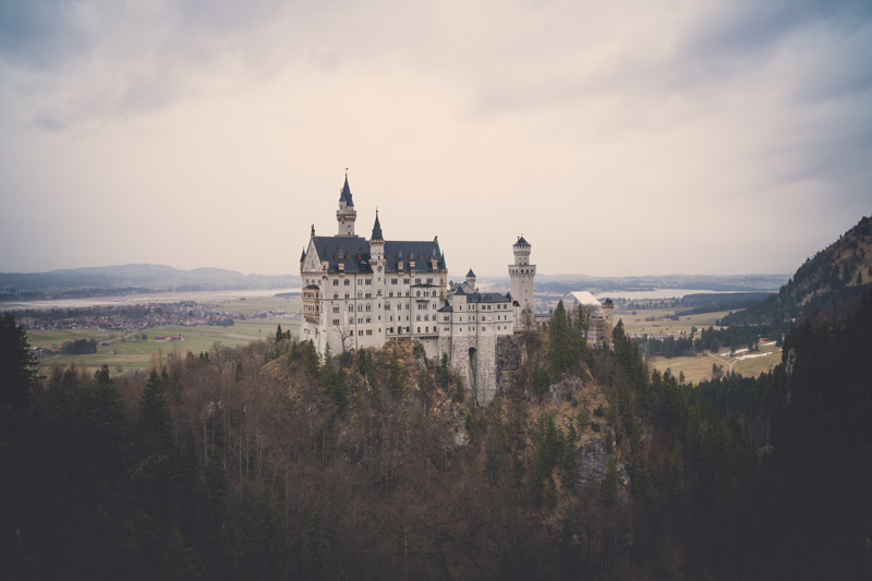 Castles in the Bavarian Alps