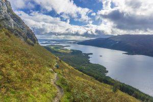 Hiking Ben Lomond