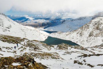 Snowdonia in winter