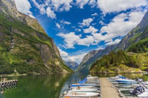 Naroyfjorden in Norway