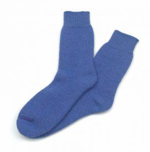 Perilla Alpaca Walking Socks Indigo