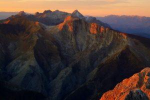 Apaun Alps, Monte Pisanino, Tuscany, Italy