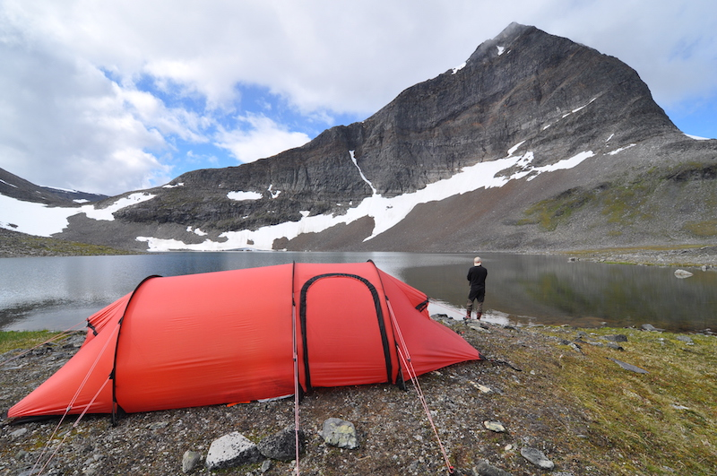 Camping in Sweden
