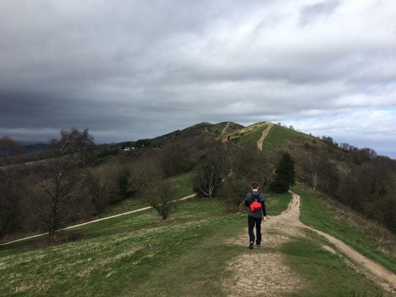 Hiker Malvern Hills
