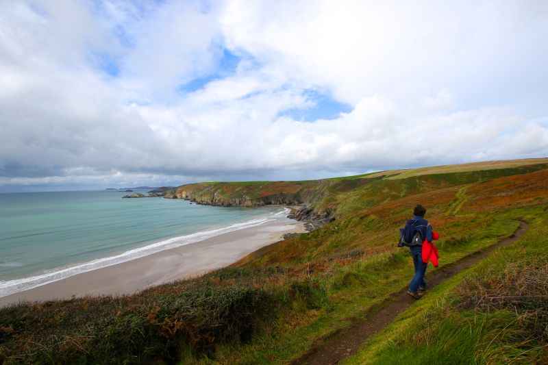 Hiking the Pembrokeshire Coast Path