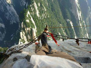 Hiking trail, Huashan Mountain, China