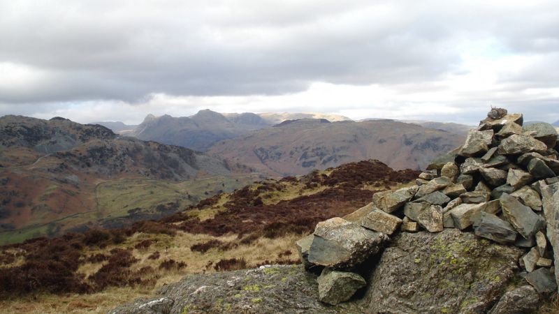 Holme Fell hiking