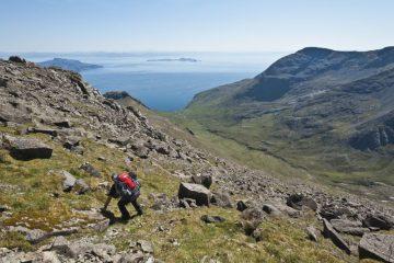 The isle of Rum Scotland