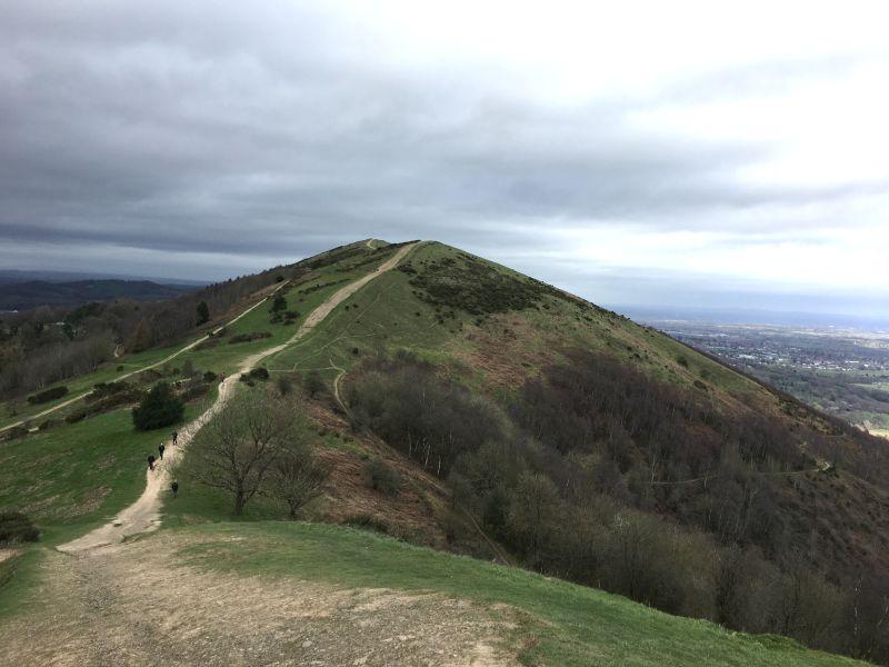 Malvern Hills landscape