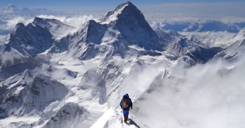 Mountaineering on Everest