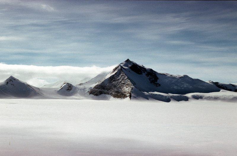 Mount Hope, Uk's highest mountain, Antarctica