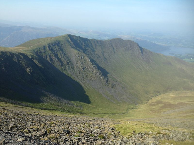 Mountain Skiddaw, Lake District