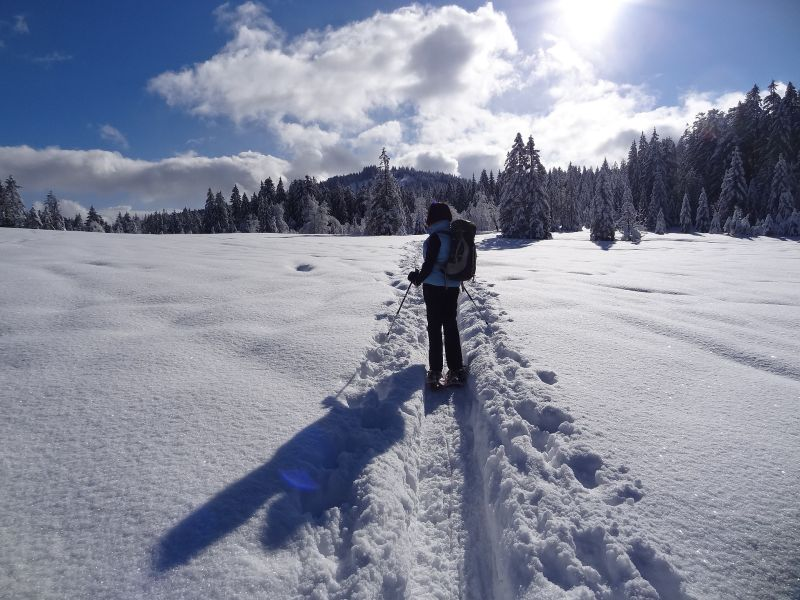 Snow shoeing Aosta Valley