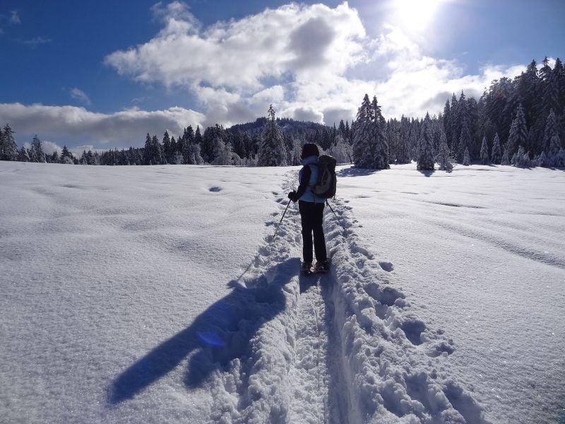 Snow shoeing Aosta Valley