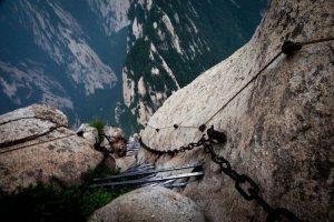 View from Mount Huashan, China