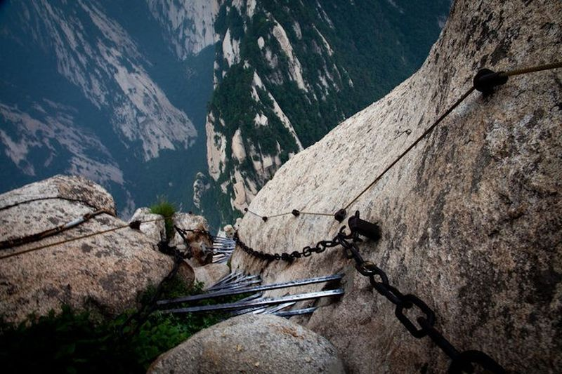 View from Mount Huashan, China