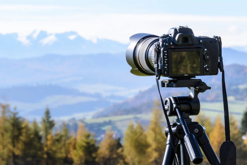 DSLR outdoor photography